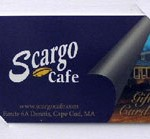 Scargo Cafe Gift Card